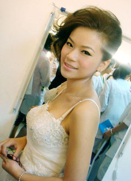 福州娅曼妮化妆学校素颜新娘